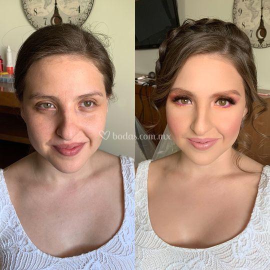 Makeup cancún by angie velásqu