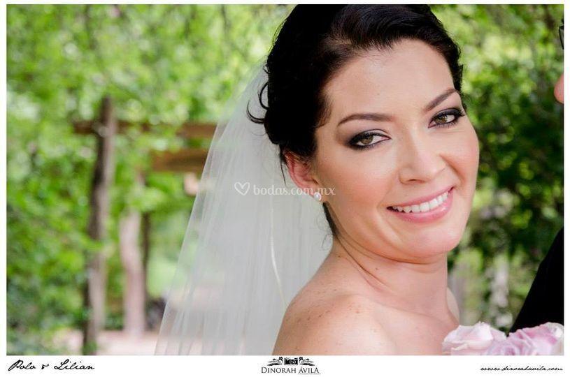 Maquillaje novia 2014