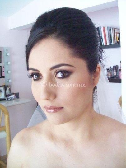 Maquillaje novia día