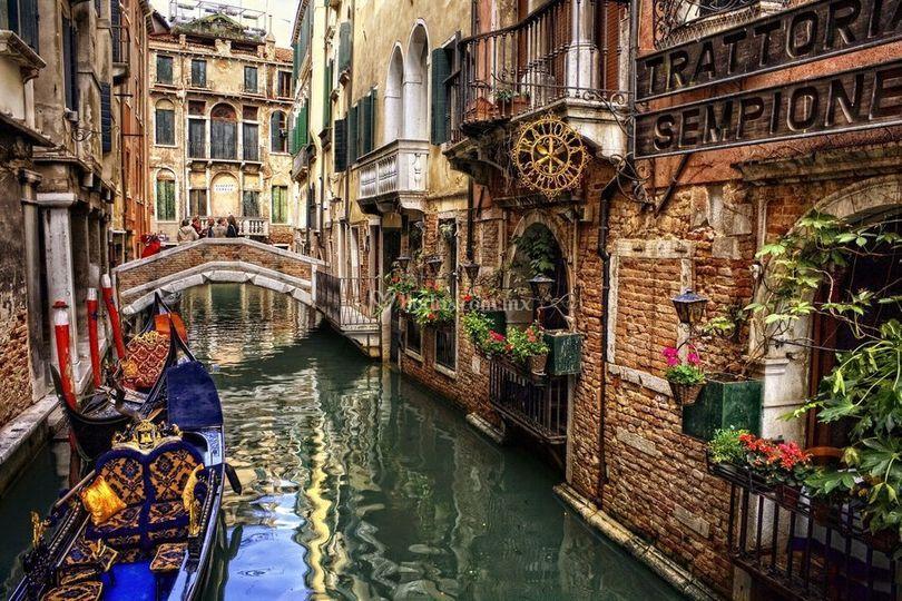 Luna de miel en Venecia