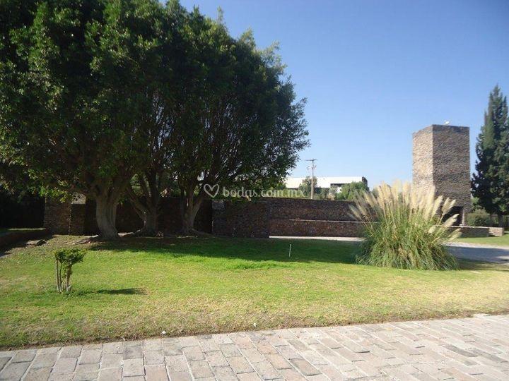 Jardín capilla