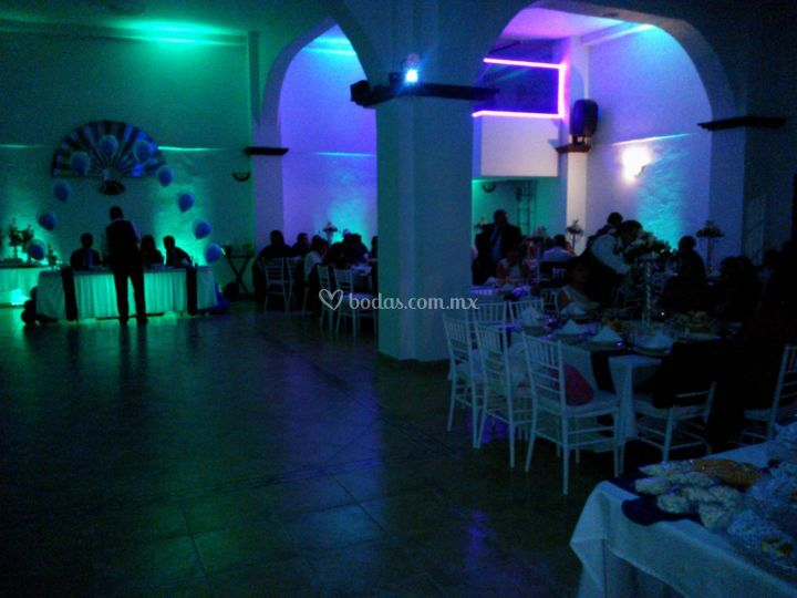 Banquetes acuario for Acuario salon de celebraciones