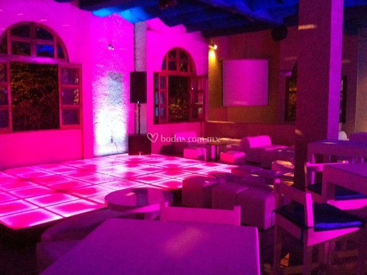 Audio concepto for Iluminacion de pared interior