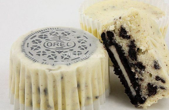 Cup cheese cake oreo