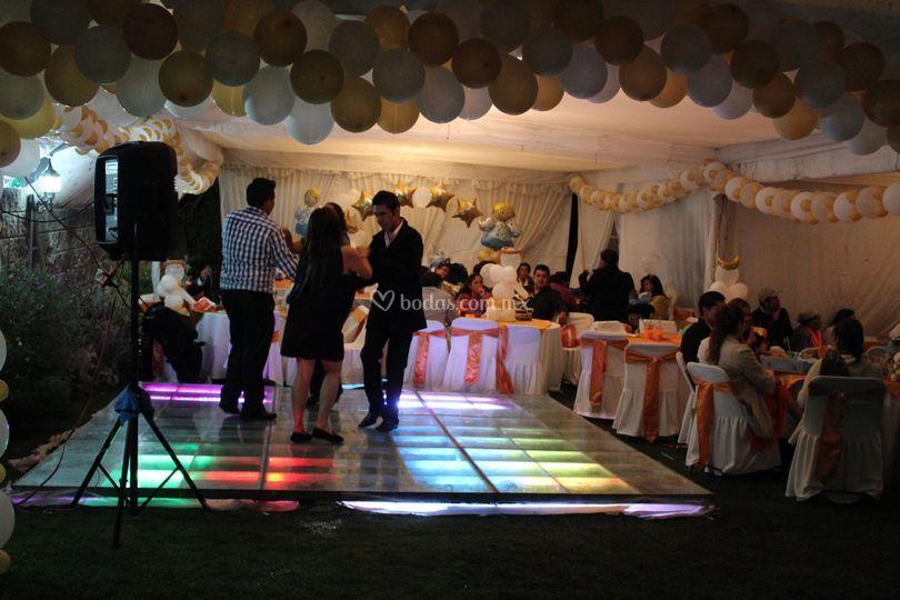 Pista baile iluminada Xanharu