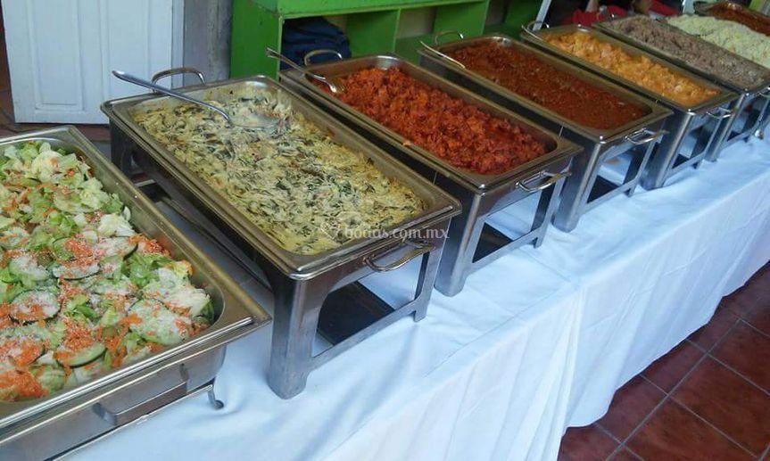 Banquetes Noel Padrón