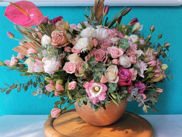 Olas de Flores