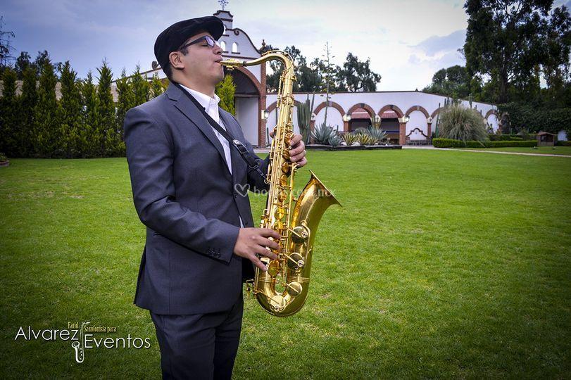 Saxofonista para eventos