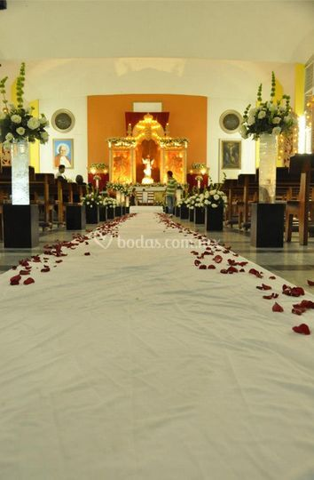 Iglesia decorada