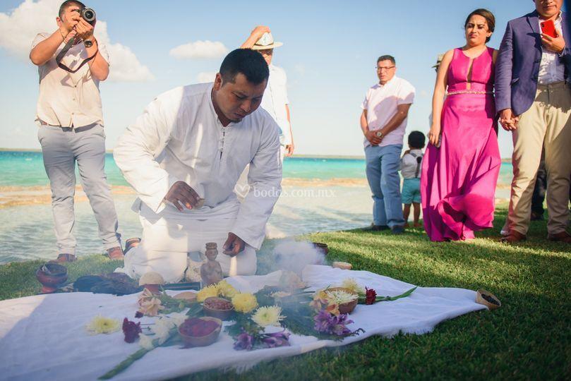 Ceremonia Boda Maya