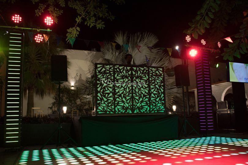 Montaje de Cabinas DJ