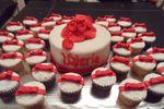 Pastel y cupcakes XV años
