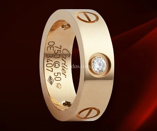 066e0db0bf1b Compromiso Bvlgari Cartier love anillo