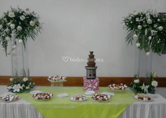 Mesa para dulces