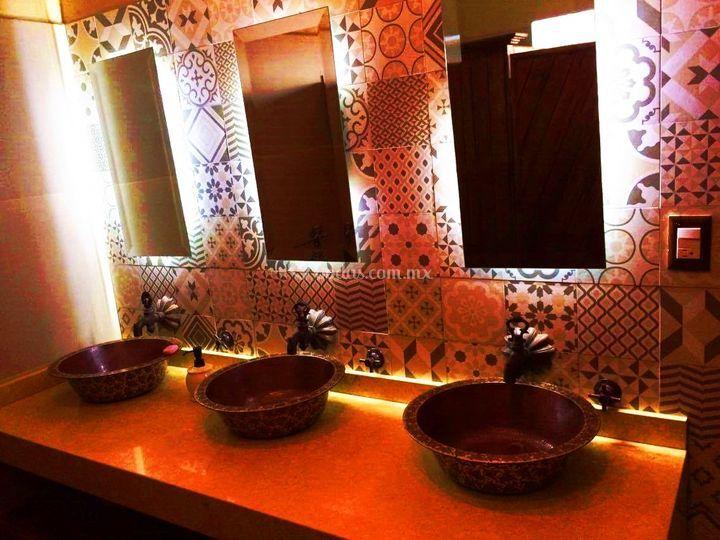 Baños de damas