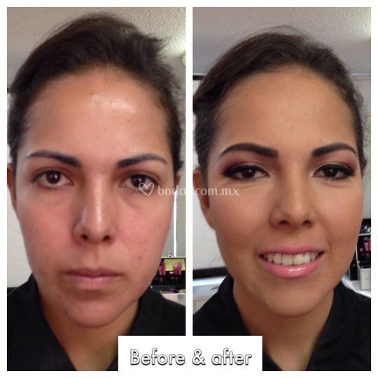 Makeup social con aerógrafo