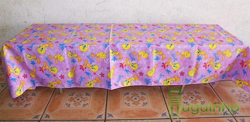 Mesa infantil tablón