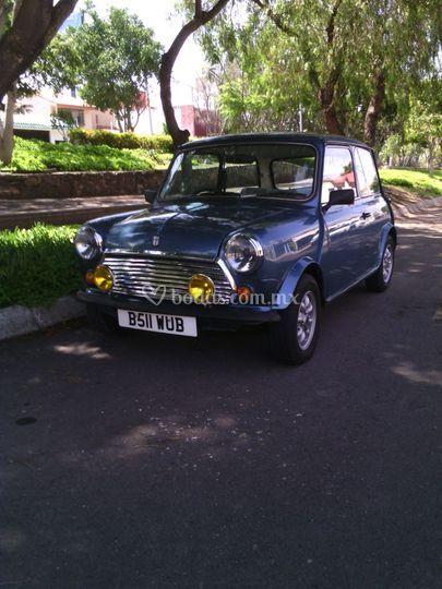 Mini Cooper inglés