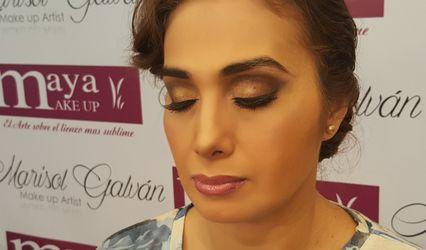 Marisol Galván Make Up 1