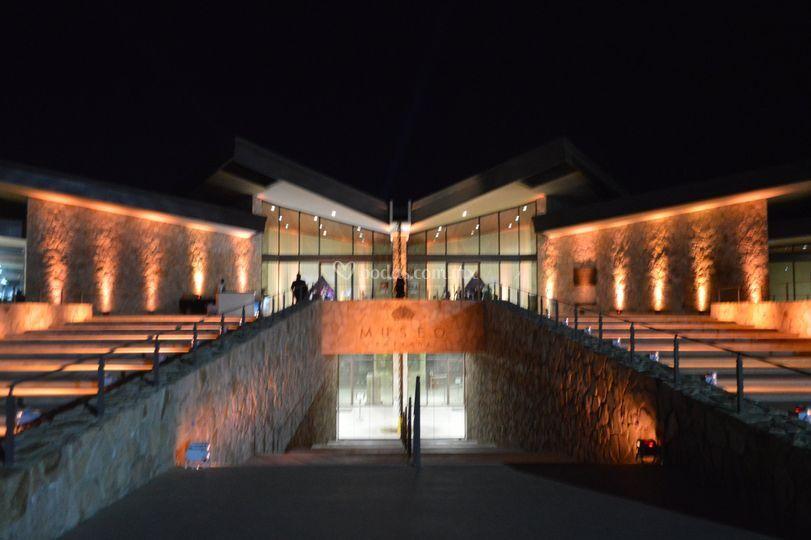 Iluminación Museo del Vino