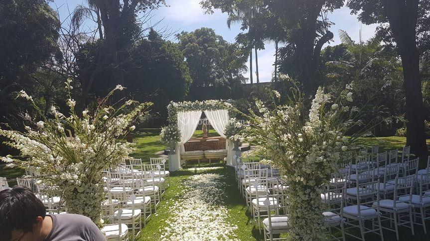 Ceremonia Jardin