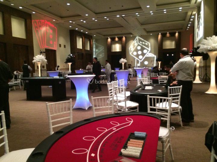 Corporate casino party