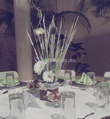 Detalles en la mesa