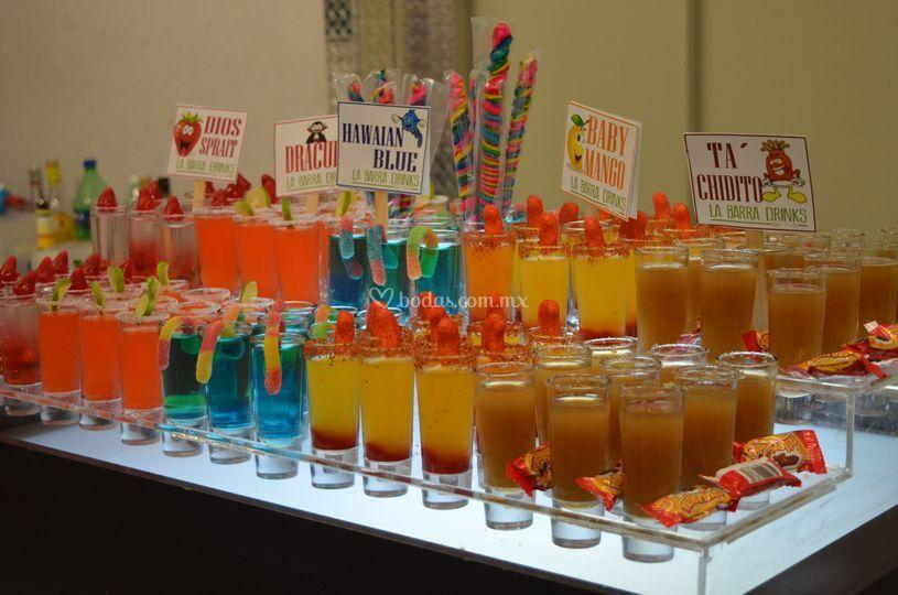 La Barra Drinks