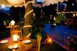 Cena a la callejuela de Hacienda de Flores