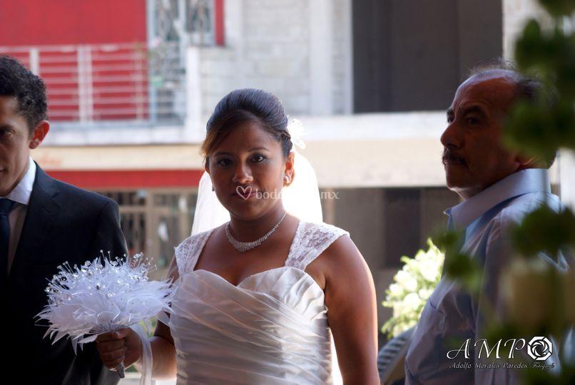 Enfoque a la novia