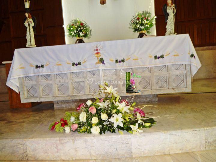 Arreglos para altar