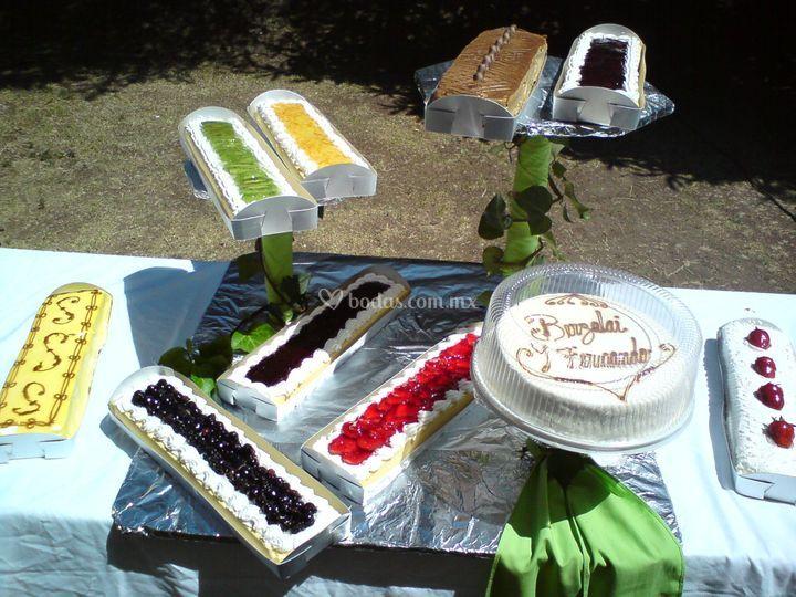 Bufete de pasteles