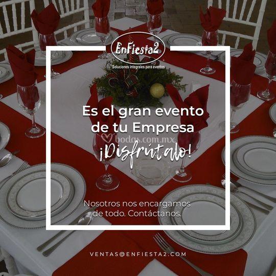 Evento en tú Empresa !!