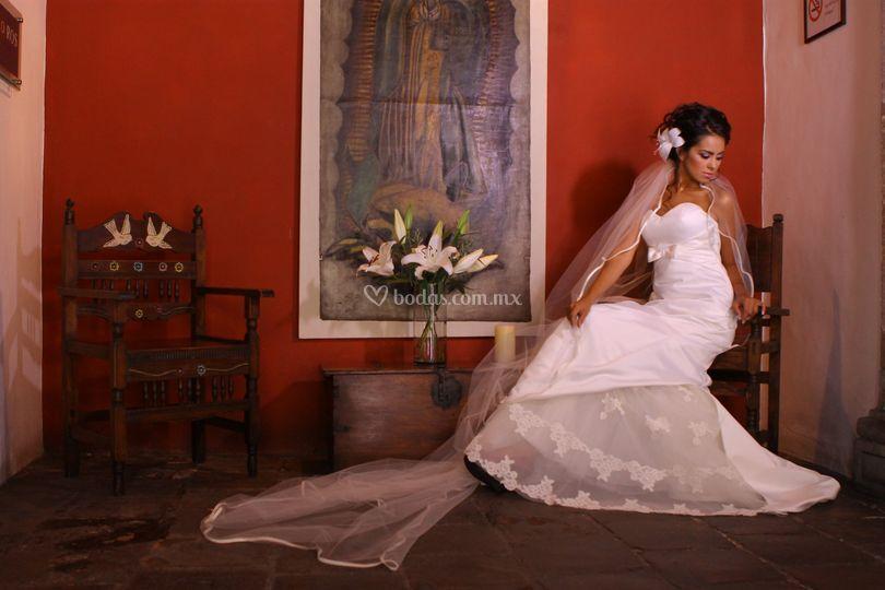 Vestido de novia Paulette