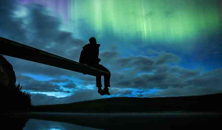 Auroras boreales Canadá