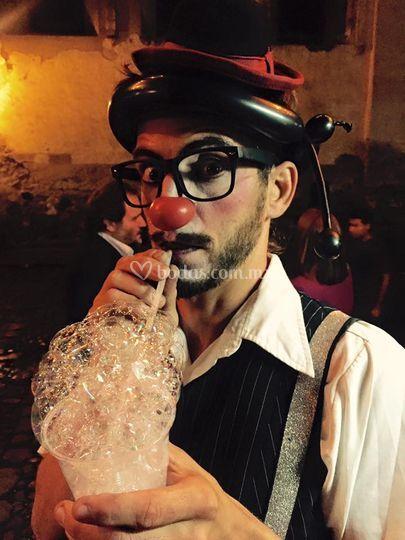 Show burbujas