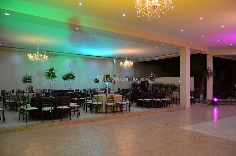 Área 2 de invitados