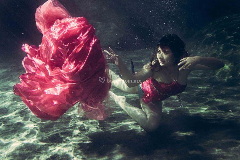 Underwater xv años
