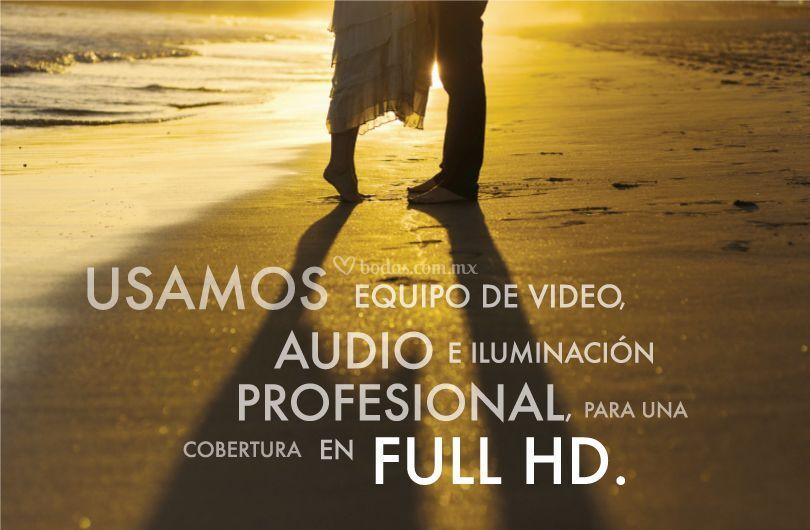Equipo profesional y Full HD