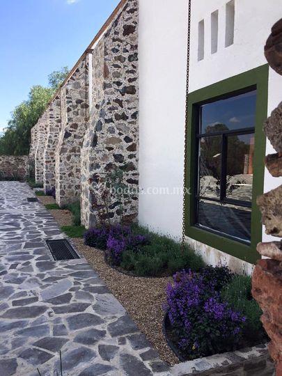 Jardiner a de hacienda tlacote el alto foto 9 for Jardineria queretaro