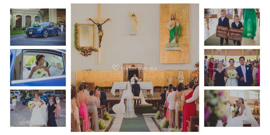 Cobertura ceremonia religiosa