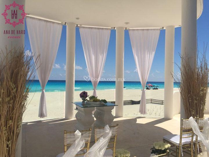Ana de haro eventi for Decoracion en cancun