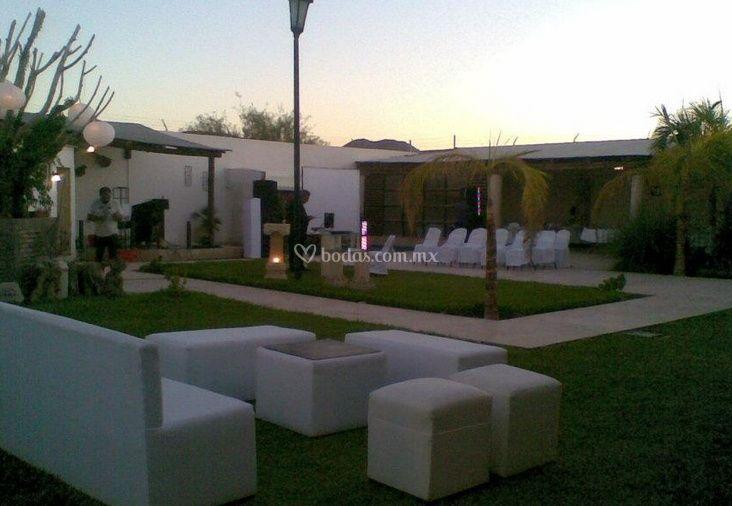 Jard n para eventos de quinta el quinqu fotos for Imagenes de jardines para fiestas