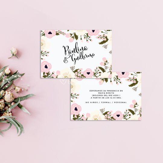 Mod. Floral wedding