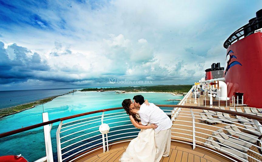 Boda Crucero Disney