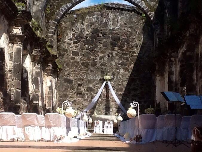 Iglesia antigua en San Blas