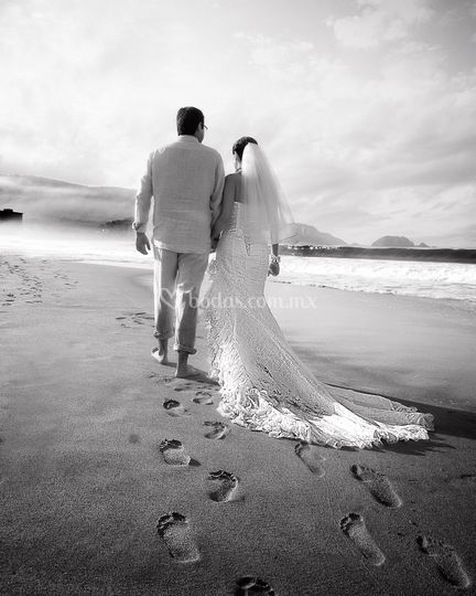 Trash the dress, Ixtapa