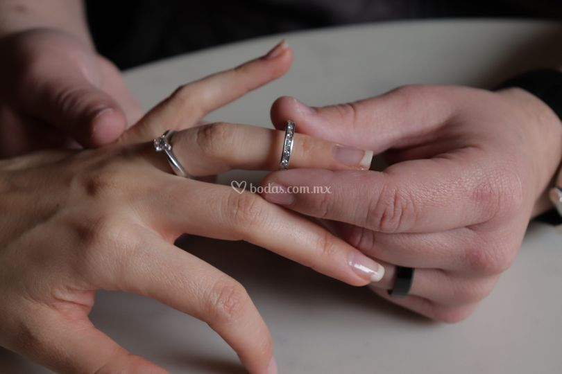Churumbela y anillo de comprom