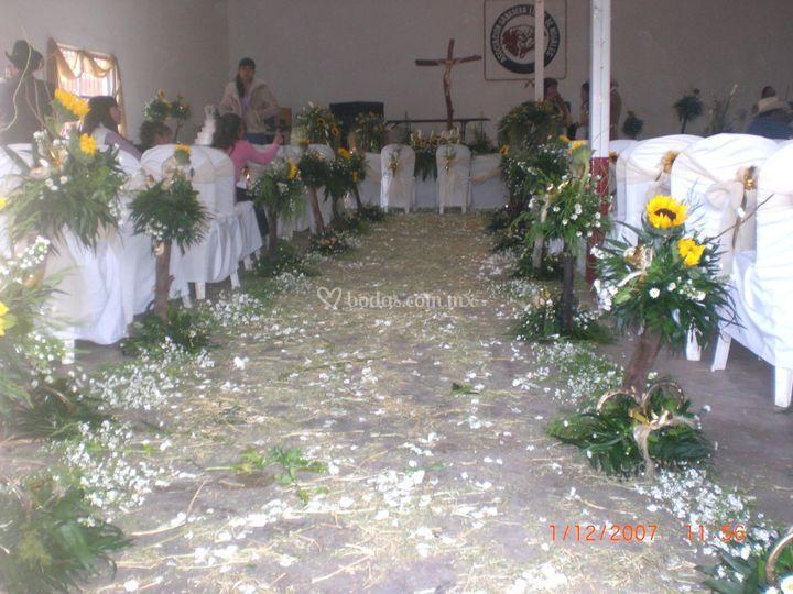 Decoración de capilla