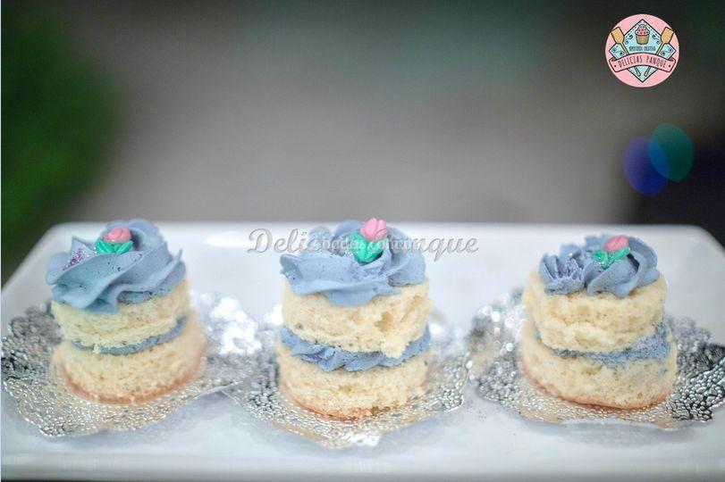 Nuked cake (pastelitos indivi)